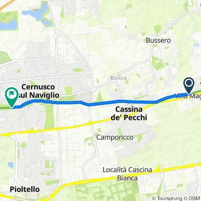 Da Villa Magri 10/C, Sant'Agata Martesana a Via della Martesana, Cernusco sul Naviglio