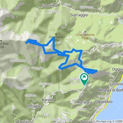 Linea Cadorna del verbano on GPSies.com