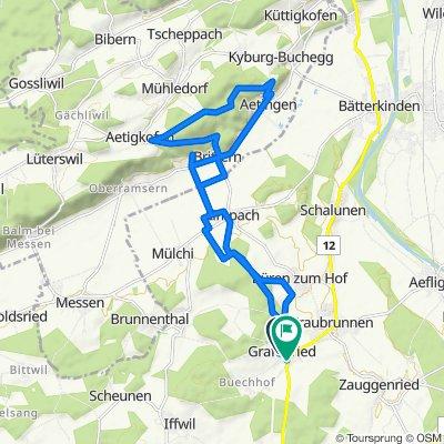 Im Weidli 5, Grafenried nach Bernstrasse 14, Grafenried