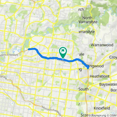 88 Thea Grove, Doncaster East to 88 Thea Grove, Doncaster East
