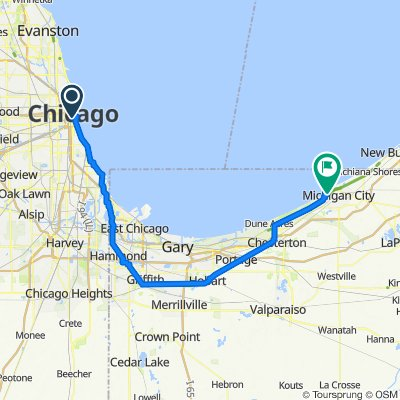 Chicago to Michigan City