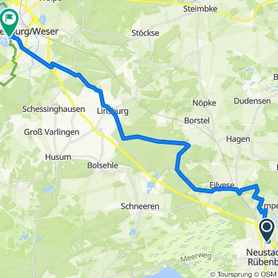 NRü nach Nienburg über Linsburg