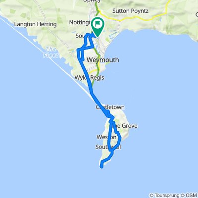Forlorn Hope 2011 Cycle Tour - Training Route No. 2
