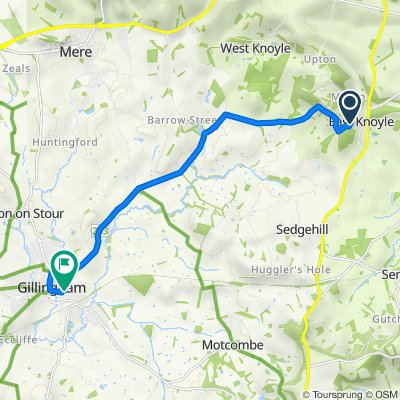 6–10 Church Rails, East Knoyle, Salisbury to The Old School House, School Road, Gillingham