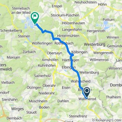 Borngasse 14, Verbandsgemeinde Wallmerod nach Wiedbachstraße 10, Dreifelden