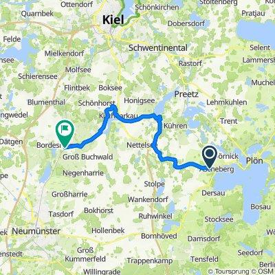 Aschberg - Bordesholm Alternativroure 33 KM