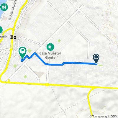 De Unnamed Road, Ilo a Avenida 1, Ilo