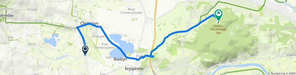 Cholerzyn do Kopiec Piłsudskiego, Kraków