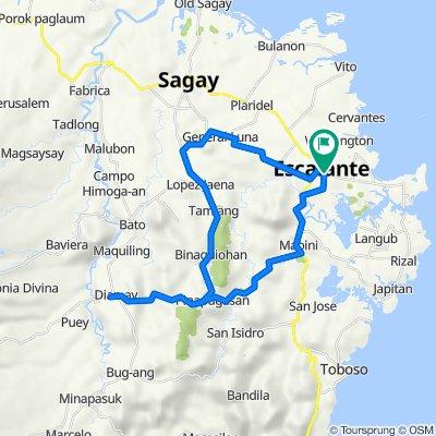 Philippines, Escalante City to De Ocampo Street, Escalante City