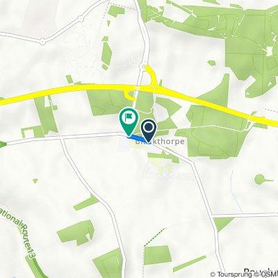 1 Mouse Lane, Rougham, Bury St Edmunds to The White House, Blackthorpe, Bury St. Edmunds