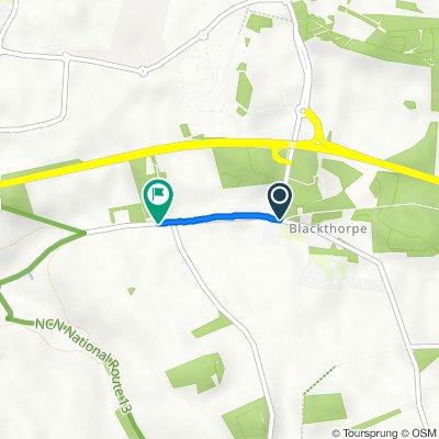 The Battlies, Rougham, Bury St Edmunds to Sandy Lane, Rougham, Bury St. Edmunds