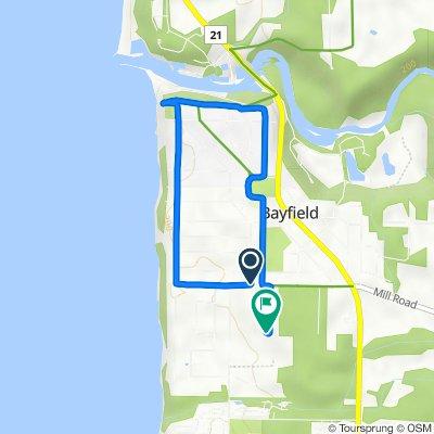 37 Cameron St, Bayfield to 29 George St, Bayfield