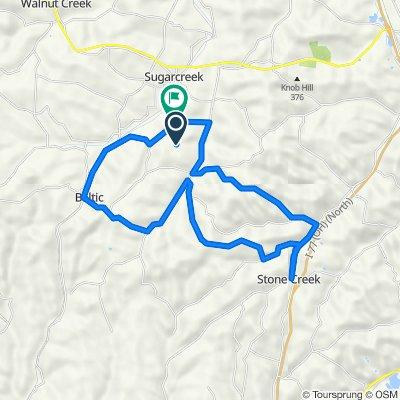 30 mile ride