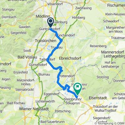 Guntramsdorf-Rust-Podersdorf-Winden-Guntramsdorf