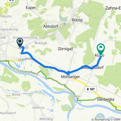 Labetzer Anger 4–6, Wittenberg nach Külso 9, Zahna-Elster