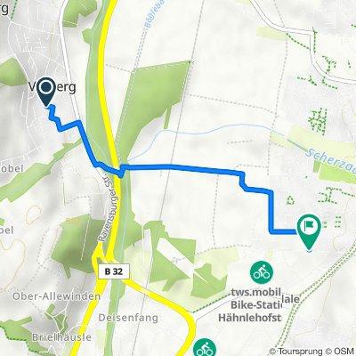 Offenbachstraße 5, Berg nach Sauterleutestraße 30, Weingarten