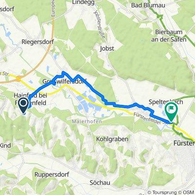 Herrnberg 38 nach Grazerstraße 16, Fürstenfeld