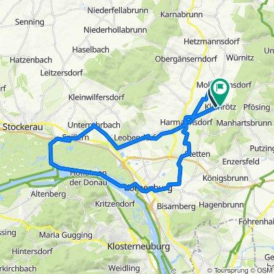 Kleinrötz Harmannsdorfer Straße nach Hauptstraße 3