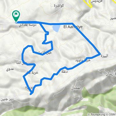 Halba - Qoubaiyat Road to Daousse & Baghda