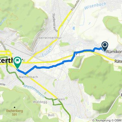 Rümikerstrasse 5A, Elsau nach Tösstalstrasse 53, Winterthur