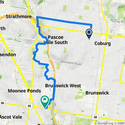 14 Alice Street, Coburg to 71 Ormond Road, Moonee Ponds
