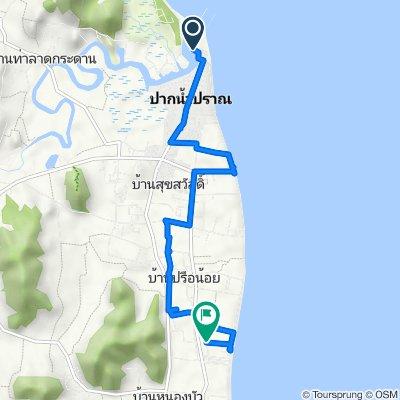 3168, Tambon Pak Nam Pran to Unnamed Road, Tambon Pak Nam Pran