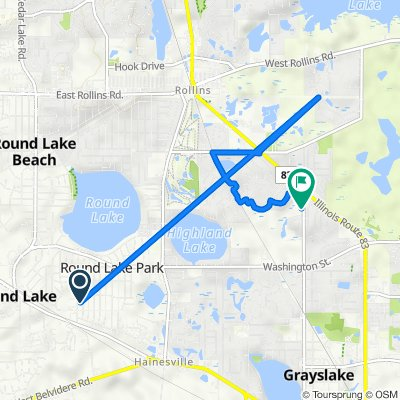 North Brierhill Drive 218, Round Lake Park to Williamsburg Circle 1142, Grayslake