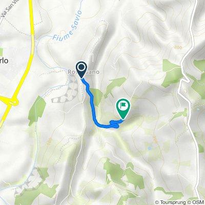 Da Via Roversano 1420 a Via Montereale 220, Cesena