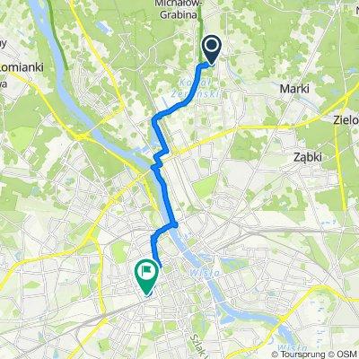 Babinicza 18, Warszawa do Twarda 58, Warszawa
