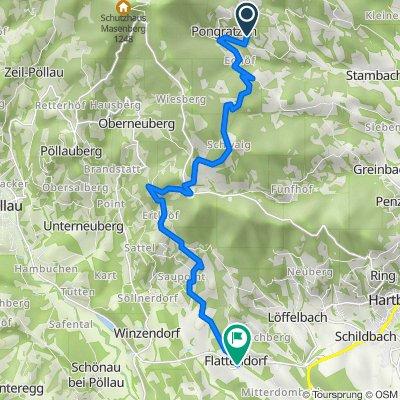 Pongrazen 36, Grafendorf bei Hartberg nach Flattendorf 8, Hartberg Umgebung