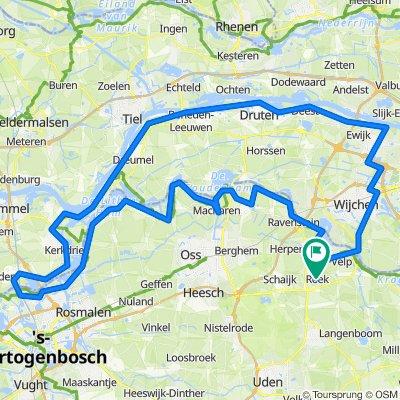 Rondje Maas / Waal 127 km