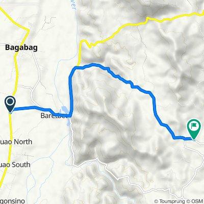 Bagabag Junction to Amballo