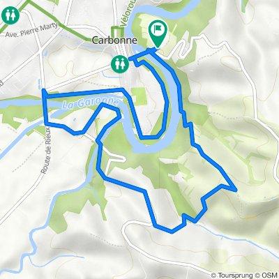 De Route de Lacaugne 4, Carbonne à Route de Lacaugne 4, Carbonne