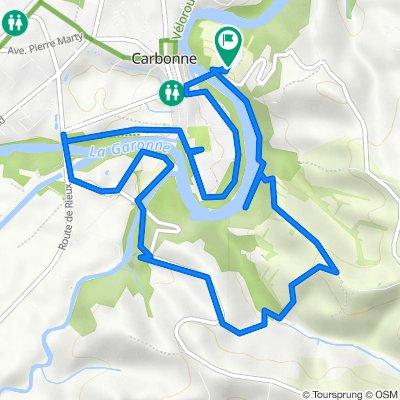 De Route de Lacaugne 5, Carbonne à Route de Lacaugne 5, Carbonne