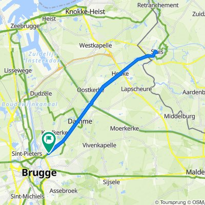 Brugge - Sluis - Brugge