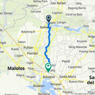 Unnamed Road, Baliuag to Burol Overpass, Balagtas