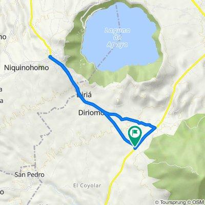 De NIC-18, Comarca El Guanacaste a NIC-18, Comarca El Guanacaste