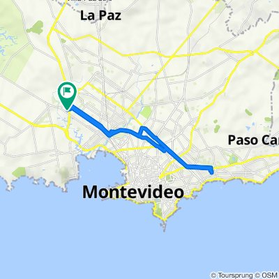 De Calle 7 5805, Montevideo a Calle 7 5805, Montevideo