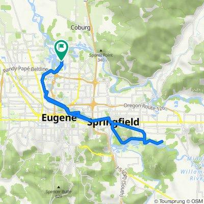 3660–3698 N Delta Hwy, Eugene to 605 Ayres Rd, Eugene