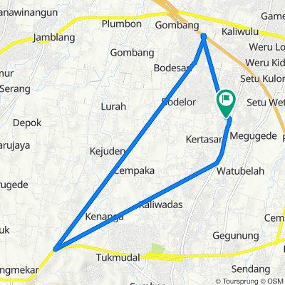 Megu Cilik, Kecamatan Weru to Megu Cilik, Kecamatan Weru