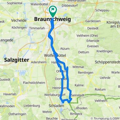 Die Oker Braunschweig - Hornburg