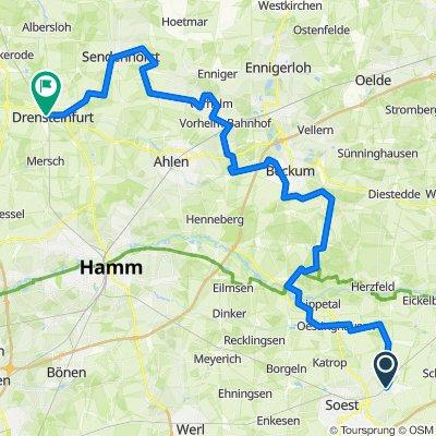 Bad Sassendorf - Beckum - Sendenhorst - Drensteinfurt (100-Schlösser-Route)