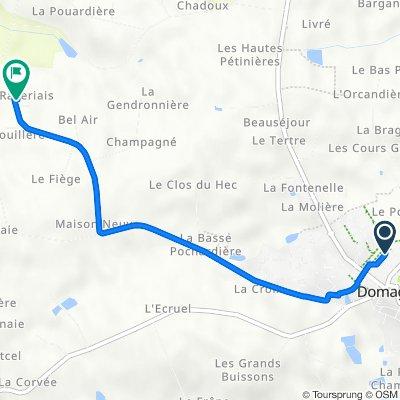 De 8 Lotissement Résidence Saint-André, Domagné à 30 La Raveriais, Domagné