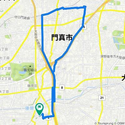 14-5, Inadauemachi 1-Chōme, Higashiosaka to 16-28, Inadauemachi 1-Chōme, Higashiosaka