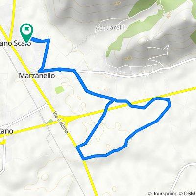 Da Via Antonio Meucci 6, Vairano Scalo a Via Antonio Meucci 6, Vairano Scalo