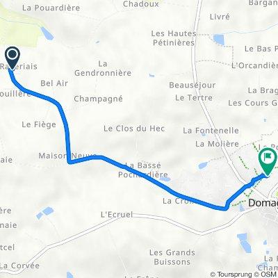 De 30 La Raveriais, Domagné à 8 Lotissement Résidence Saint-André, Domagné