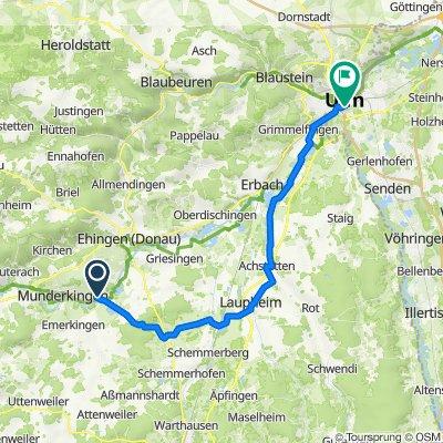 Radtour Ulm Tag 2
