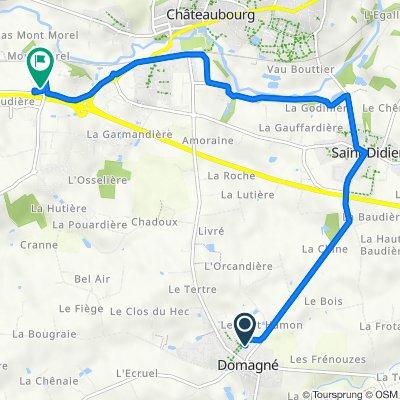 De 7 Lotissement Résidence Saint-André, Domagné à La Basse Haye, Châteaubourg