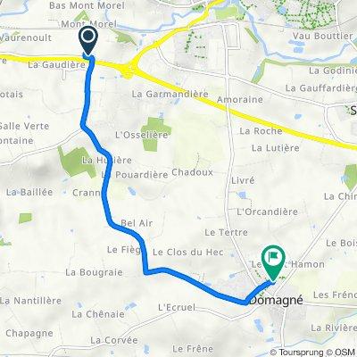 De La Basse Haye, Châteaubourg à 8 Lotissement Résidence Saint-André, Domagné