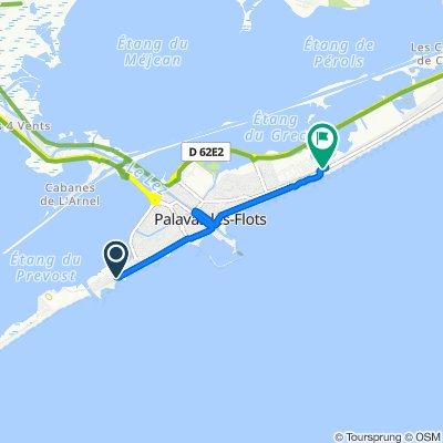 De 1035 Avenue de l'Évêché de Maguelone, Palavas-les-Flots à 107A Avenue Saint-Maurice, Palavas-les-Flots